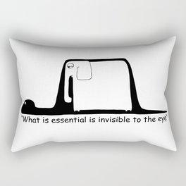 The Little Prince. Boa, elephant or hat. Rectangular Pillow