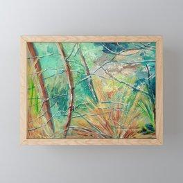 Forest immersion Framed Mini Art Print
