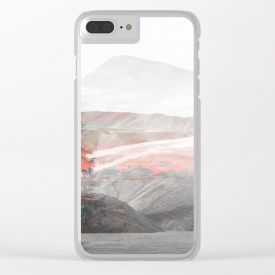 Lost Color Clear iPhone Case