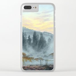 Caspar David Friedrich The Times of the Day, Morning Clear iPhone Case