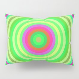 Retro Radial Pillow Sham