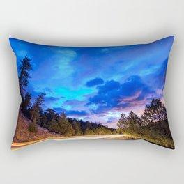 Colorado Highway 7 To Heaven Rectangular Pillow