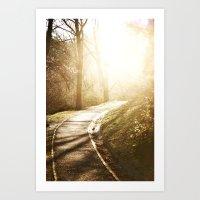 Road to heaven... Art Print