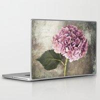 hydrangea Laptop & iPad Skins featuring Hydrangea  by Maria Heyens