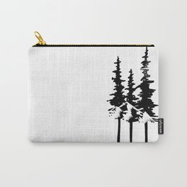Trees and Compass Carry-All Pouch