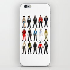 Outfits of King MJ Pop Music iPhone & iPod Skin