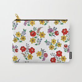 Hungarian floral repeat 1 Carry-All Pouch