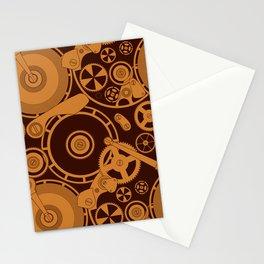 Clockwork 1 Stationery Cards