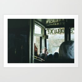 The road to Leh (Ladakh, India) Art Print