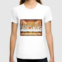 the last unicorn T-shirts featuring Last Supper Unicorn by That's So Unicorny
