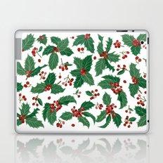 Holly pattern Laptop & iPad Skin