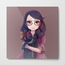 Beautiful Girl Metal Print