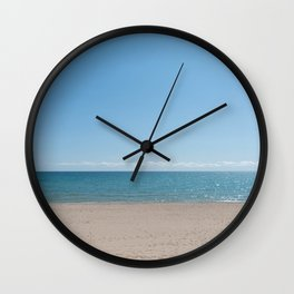 sparkles on the lake Wall Clock