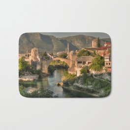 The Old Bridge of Mostar Bath Mat