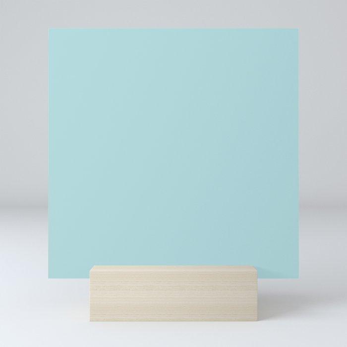 Simply Pretty Blue Mini Art Print