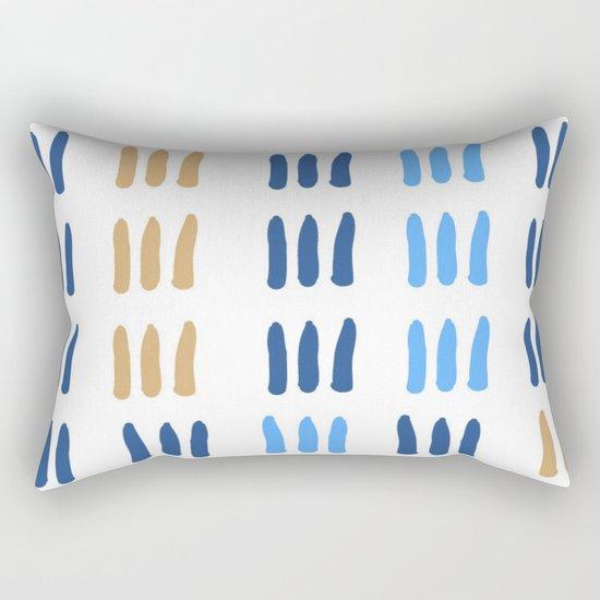 barcode Rectangular Pillow