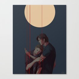 i offer cleansing with wicked hands Canvas Print