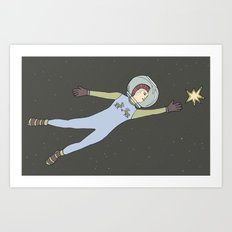 Star from the sky Art Print
