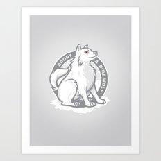 Adopt A Dire Wolf Art Print