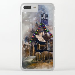 Church At Christm Clear iPhone Case