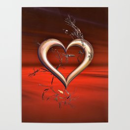 For the Love of Red Poster