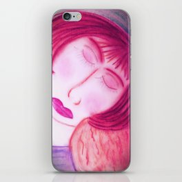 Her Baby Made Her Whole... iPhone Skin