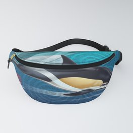 DW-031 Dolphin Dance Fanny Pack