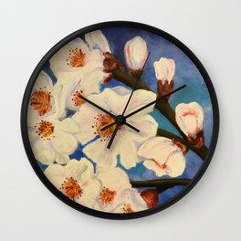 Aaron's Rod Is Blooming Again Wall Clock