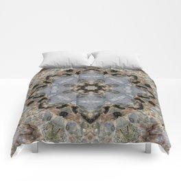 Rock Surface 4 Comforters