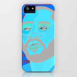 This feel like a quaalude iPhone Case