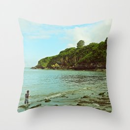St Mary's Bay Throw Pillow