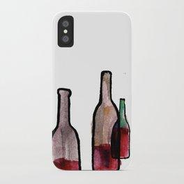 Wine Bottles 1 iPhone Case