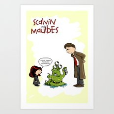 Scalvin and Maulbes Art Print