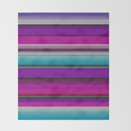 Mexican serape #7 Throw Blanket