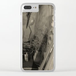 Old Florida kitchen Clear iPhone Case