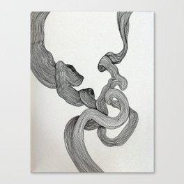 Drawing Weird Stuff Canvas Print