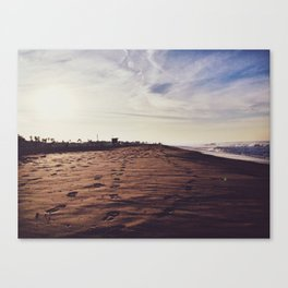 Mornings with Venice Canvas Print