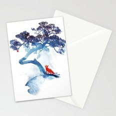The last apple tree Stationery Cards