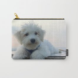 Teddy At Sunset Carry-All Pouch