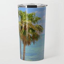 Palms in Paradise Travel Mug