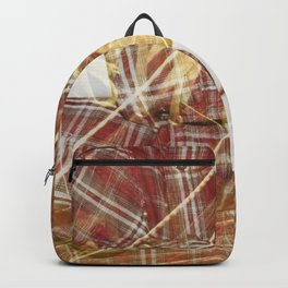 Plaid Hands and Converse Feet Backpack