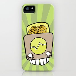 Robot Head One iPhone Case