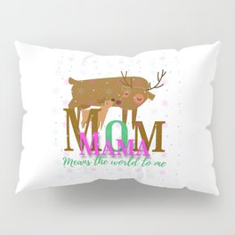 Mom Means the World to Me Pillow Sham