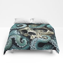 Please my love, don't die so far from the sea... Comforters