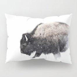 Prancing Buffalo Pillow Sham