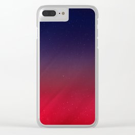 Get your Happy On | Abstract Clear iPhone Case