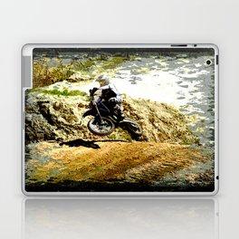Dirt-bike Racer Laptop & iPad Skin