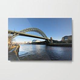 Tyne Bridge Metal Print