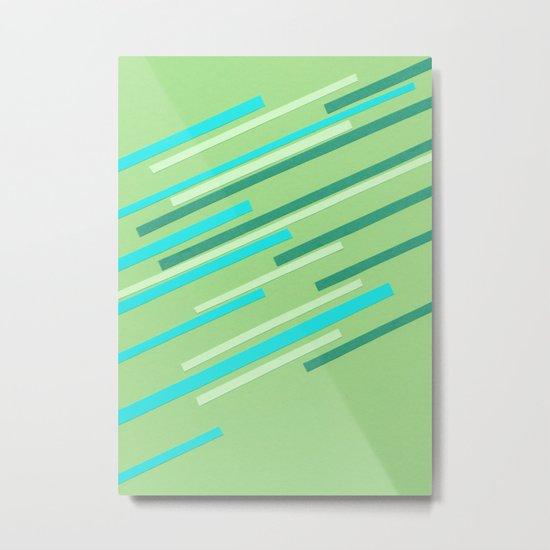 Speed II Metal Print