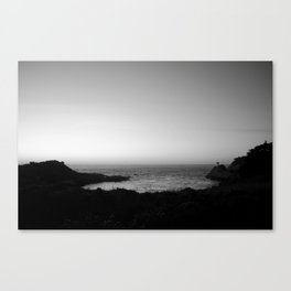 Monterey Sunset - North California Canvas Print